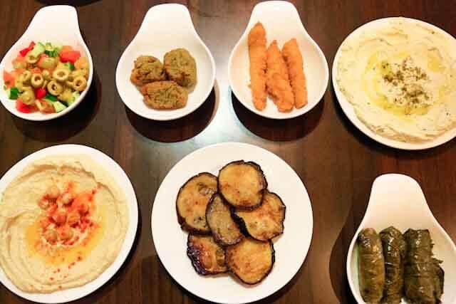 My feast at PIta & Olives