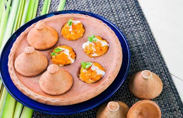 Hor Mok Talay Kanom Krok is my favorite dish at Sawadee Thai Cuisine